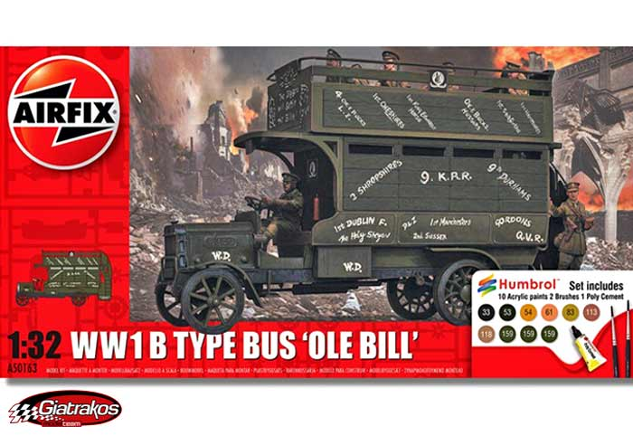 WWI Old Bill Bus Gift Set