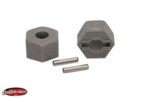TRX3654 Hex Wheel Hubs