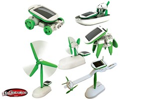 SOLAR WINDMILL ROBOT KITS 6in1