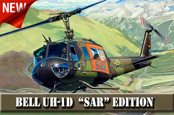 Helicopter Bell UH-1D SAR